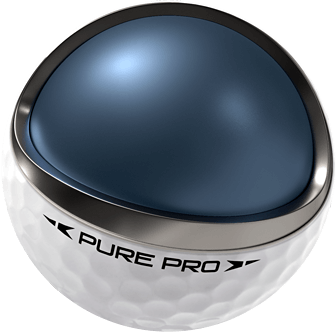 Golfball Pearl Golf Pure Pro weiss kern