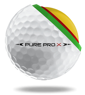 PearlGolf Golfball PurePro X im Detail