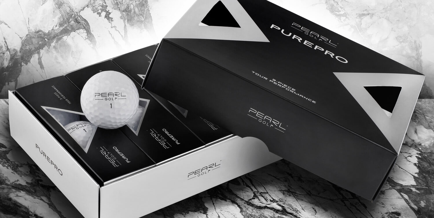 PearlGolf Golfball PurePro - Verpackung